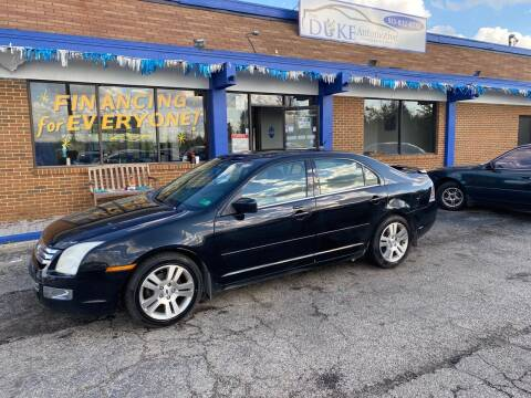 2008 Ford Fusion for sale at Duke Automotive Group in Cincinnati OH