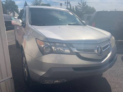 2008 Acura MDX for sale at Park Avenue Auto Lot Inc in Linden NJ