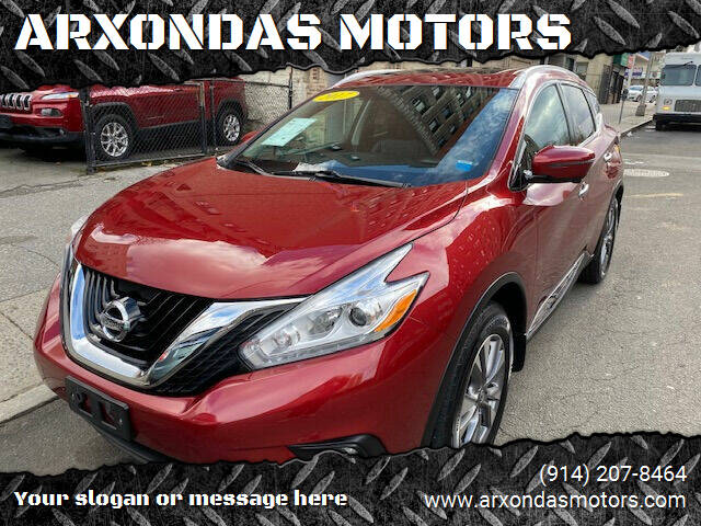 2017 Nissan Murano for sale at ARXONDAS MOTORS in Yonkers NY