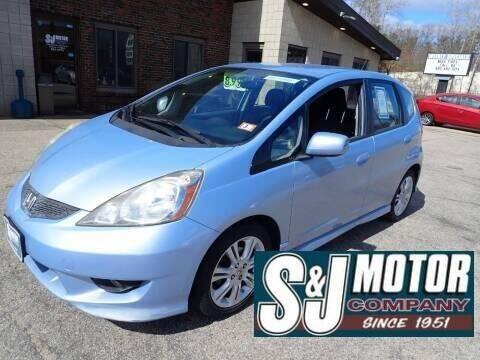 2009 Honda Fit for sale at S & J Motor Co Inc. in Merrimack NH