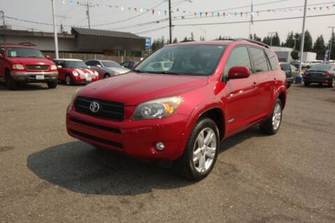 2007 Toyota RAV4 for sale at Leavitt Auto Sales and Used Car City in Everett WA