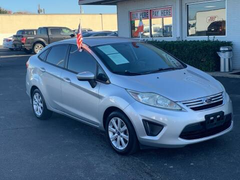 2012 Ford Fiesta for sale at Traditional Autos in Dallas TX