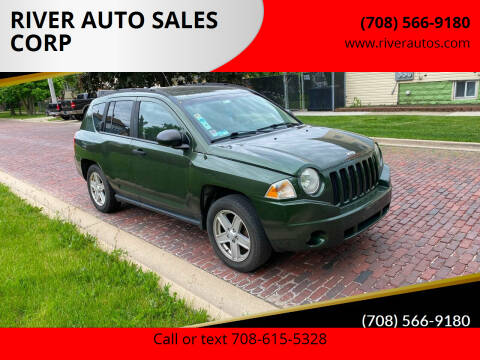 2007 Jeep Compass for sale at RIVER AUTO SALES CORP in Maywood IL