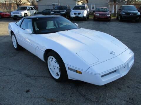 1988 Chevrolet Corvette for sale at RJ Motors in Plano IL