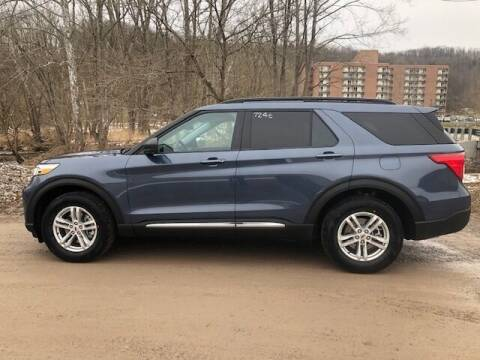 2021 Ford Explorer for sale at WESTON FORD  INC in Weston WV