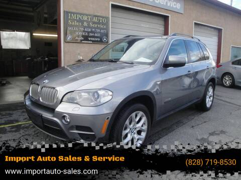 2013 BMW X5 for sale at Import Auto Sales & Service in Boone NC