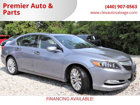 2014 Acura RLX for sale at Premier Auto & Parts in Elyria OH