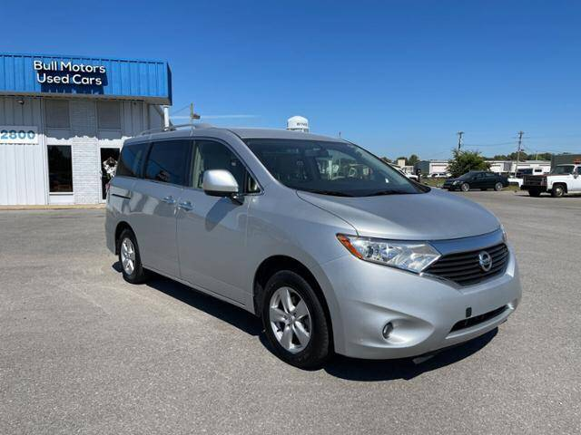2017 Nissan Quest for sale at BULL MOTOR COMPANY in Wynne AR