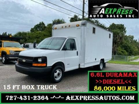 2006 Chevrolet Express Cutaway for sale at A EXPRESS AUTO SALES INC in Tarpon Springs FL