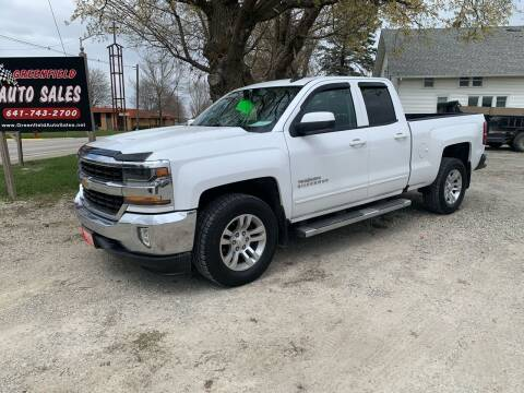 2016 Chevrolet Silverado 1500 for sale at GREENFIELD AUTO SALES in Greenfield IA