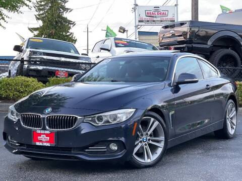 2017 BMW 4 Series for sale at Real Deal Cars in Everett WA