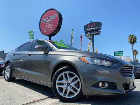 2013 Ford Fusion for sale at Auto Express in Chula Vista CA