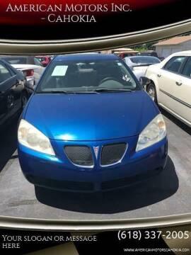 2006 Pontiac G6 for sale at American Motors Inc. - Cahokia in Cahokia IL