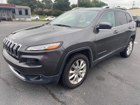 2014 Jeep Cherokee for sale at Modern Automotive in Boiling Springs SC