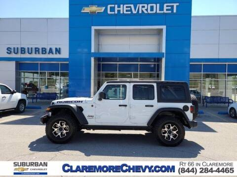 2021 Jeep Wrangler Unlimited for sale at Suburban Chevrolet in Claremore OK