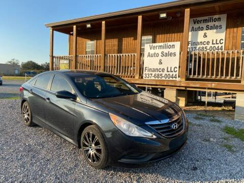 2014 Hyundai Sonata for sale at Vermilion Auto Sales & Finance in Erath LA