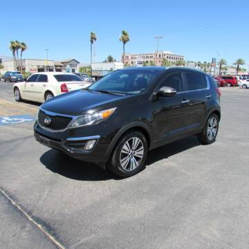 2014 Kia Sportage for sale at Charlie Cheap Car in Las Vegas NV