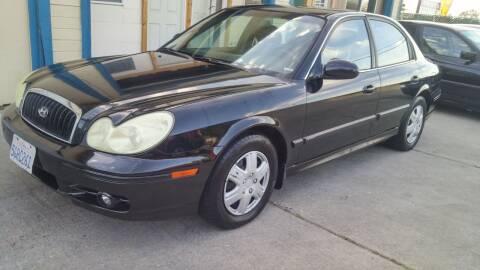 2004 Hyundai Sonata for sale at Carspot Auto Sales in Sacramento CA