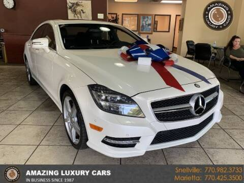 2013 Mercedes-Benz CLS for sale at Amazing Luxury Cars in Snellville GA