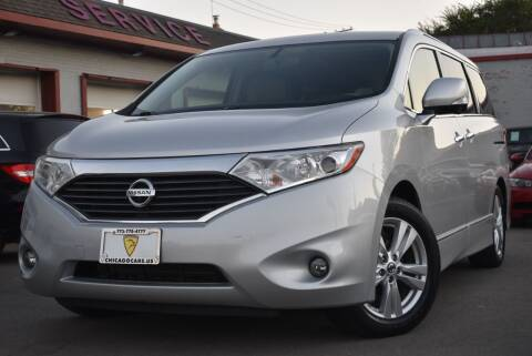2014 Nissan Quest for sale at Chicago Cars US in Summit IL