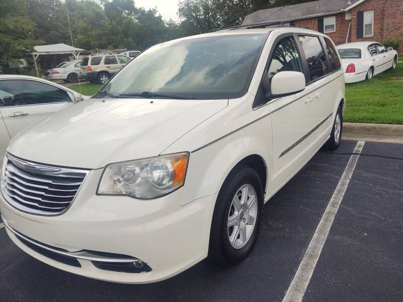 2012 Chrysler Town and Country for sale at Ray Moore Auto Sales in Graham NC