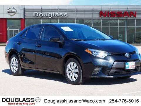 2016 Toyota Corolla for sale at Douglass Automotive Group in Central Texas TX
