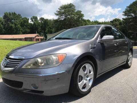 2006 Acura RL for sale at ATLANTA AUTO WAY in Duluth GA