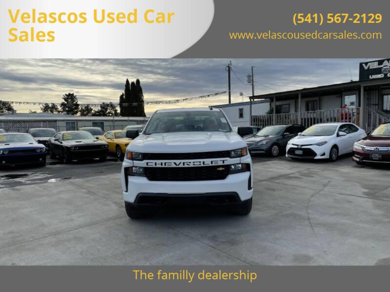 2019 Chevrolet Silverado 1500 for sale at Velascos Used Car Sales in Hermiston OR