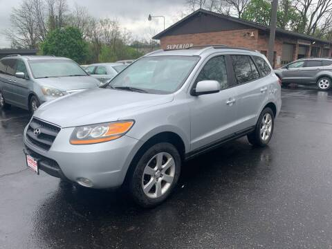 2009 Hyundai Santa Fe for sale at Superior Used Cars Inc in Cuyahoga Falls OH