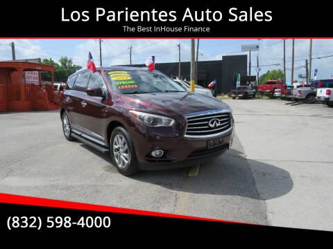 2014 Infiniti QX60 for sale at Los Parientes Auto Sales in Houston TX