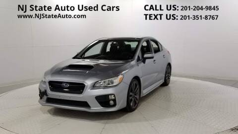 2016 Subaru WRX for sale at NJ State Auto Auction in Jersey City NJ