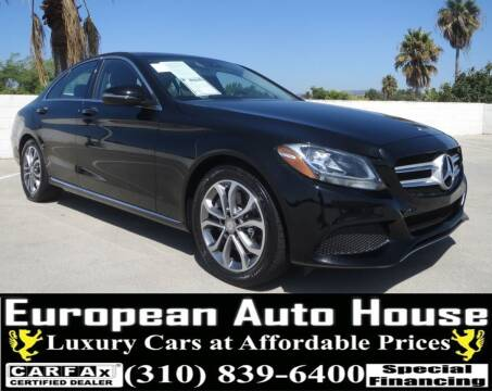 2016 Mercedes-Benz C-Class for sale at European Auto House in Los Angeles CA