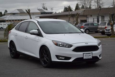 2016 Ford Focus for sale at Skyline Motors Auto Sales in Tacoma WA
