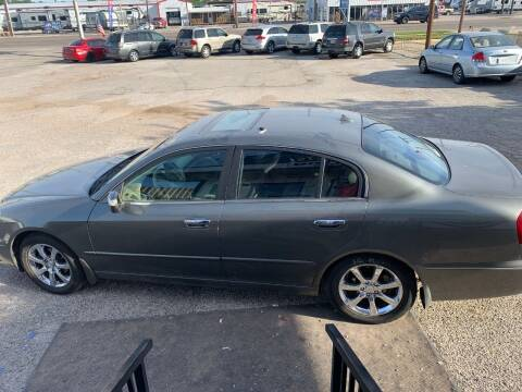2006 Infiniti Q45 for sale at WF AUTOMALL in Wichita Falls TX