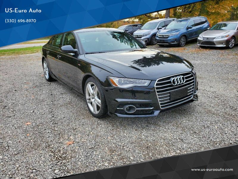 2016 Audi A6 for sale at US-Euro Auto in Burton OH