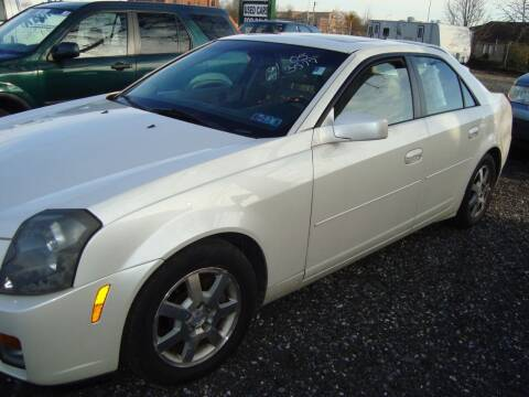 2005 Cadillac CTS for sale at Branch Avenue Auto Auction in Clinton MD