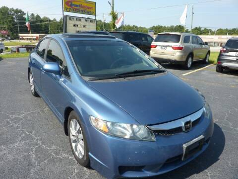 2010 Honda Civic for sale at Roswell Auto Imports in Austell GA