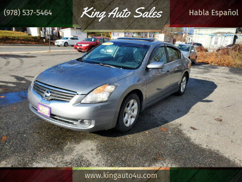2007 Nissan Altima for sale at King Auto Sales in Leominster MA