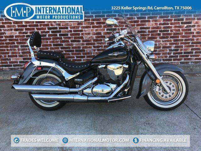 2009 Suzuki Boulevard  for sale at International Motor Productions in Carrollton TX