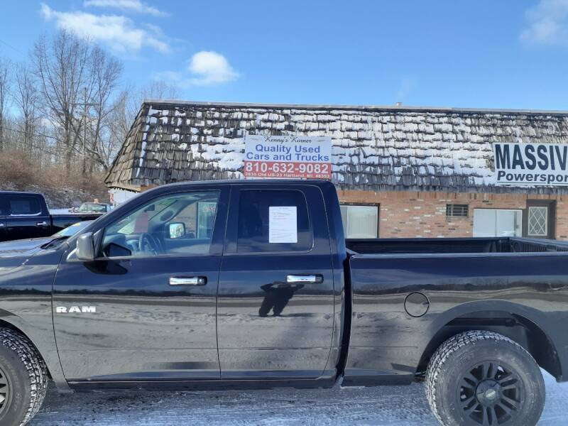 2010 Dodge Ram Pickup 1500 for sale at Kenny's Korner in Hartland MI