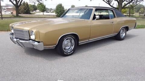 1970 Chevrolet Monte Carlo for sale at Naperville Auto Haus Classic Cars in Naperville IL
