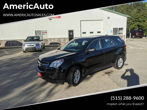2015 Chevrolet Equinox for sale at AmericAuto in Des Moines IA