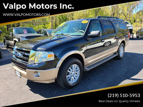 2013 Ford Expedition EL for sale at Valpo Motors Inc. in Valparaiso IN