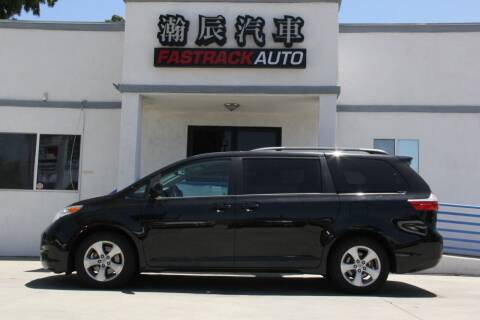 2017 Toyota Sienna for sale at Fastrack Auto Inc in Rosemead CA