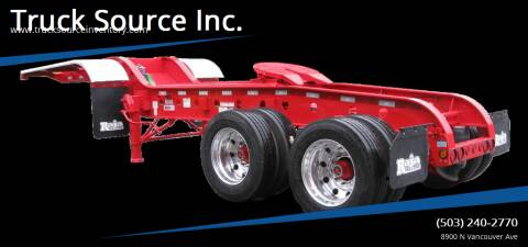 2021 Raja Low Bed Heavy Haul Jeep for sale at Truck Source Inc. in Portland OR