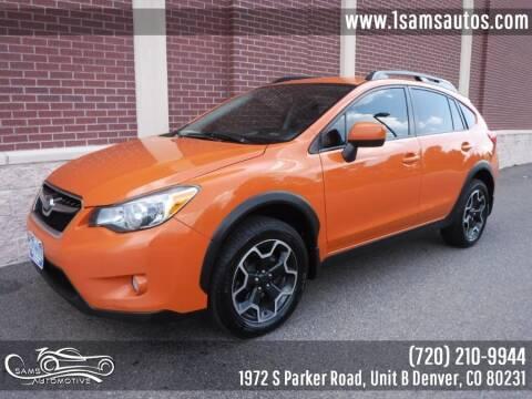 2014 Subaru XV Crosstrek for sale at SAM'S AUTOMOTIVE in Denver CO
