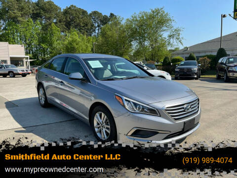 2017 Hyundai Sonata for sale at Smithfield Auto Center LLC in Smithfield NC