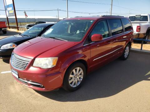 2014 Chrysler Town and Country for sale at South Plains Autoplex by RANDY BUCHANAN in Lubbock TX