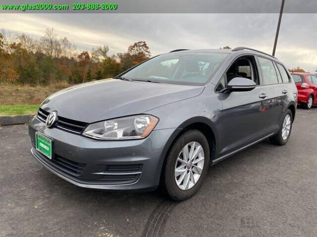 2017 Volkswagen Golf SportWagen for sale at Green Light Auto Sales LLC in Bethany CT