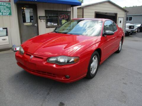 2004 Chevrolet Monte Carlo for sale at TRI-STAR AUTO SALES in Kingston NY